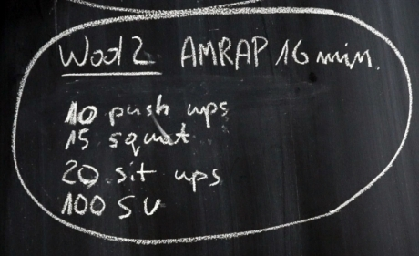 VIDEO – WOD AMRAP 16 min
